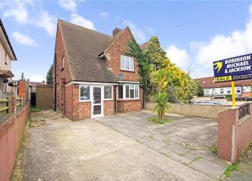 Thumbnail 3 bedroom semi-detached house for sale in Truro Road, Gravesend, Kent
