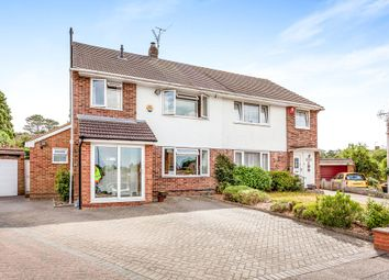 Thumbnail 4 bed semi-detached house for sale in Priestcroft Close, Crawley