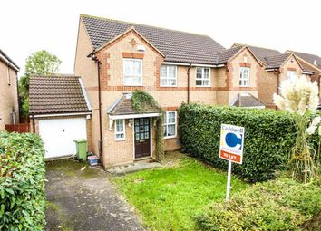 Thumbnail 3 bed semi-detached house to rent in Kirkstall Place, Oldbrook, Milton Keynes