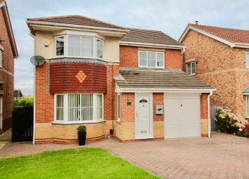 Thumbnail 4 bed detached house for sale in Oakwood Close, Hartlepool