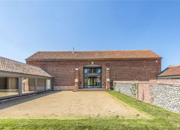 Thumbnail 5 bedroom barn conversion for sale in Grove Farm Barns, Roughton Road, Felbrigg, Norwich