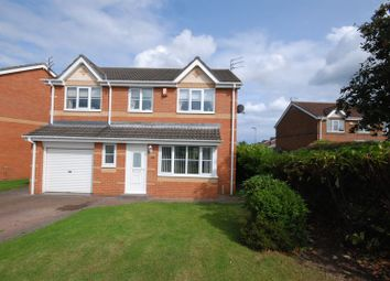 Thumbnail 4 bed detached house for sale in Otterburn Drive, Ashington