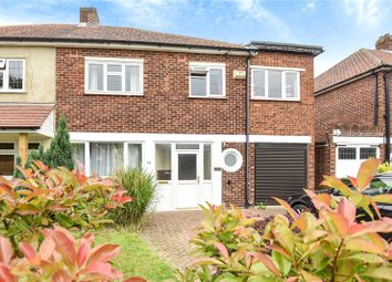 Thumbnail 4 bedroom semi-detached house for sale in Woodham Park Road, Woodham, Surrey