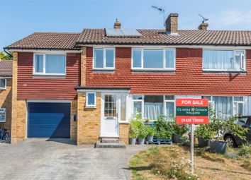 Thumbnail 5 bed semi-detached house for sale in Hazelbank Close, Liphook