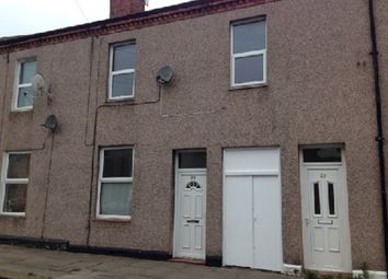 Thumbnail 3 bed terraced house to rent in Lindisfarne Street, Carlisle, Cumbria
