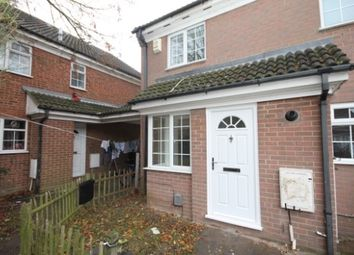 Thumbnail 1 bed end terrace house to rent in Dorrington Close, Luton