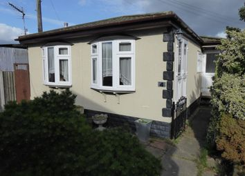 Thumbnail 2 bed mobile/park home for sale in Abridge Park, London Road, Abridge, Nr Romford, Essex