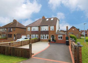 Thumbnail 4 bed semi-detached house for sale in Ridge Road, Kempston Rural
