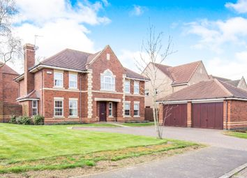 Thumbnail 5 bedroom detached house for sale in The Spinney, Oadby, Leicester