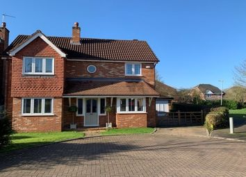 Thumbnail 4 bed detached house to rent in Holcombe Drive, Macclesfield