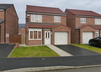 Thumbnail 3 bed detached house to rent in Orchid Road, Hartlepool