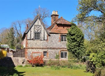Thumbnail 3 bed semi-detached house for sale in Horsham Road, North End, Findon, West Sussex