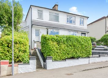 Thumbnail 3 bedroom semi-detached house for sale in Rockmount Avenue, Thornliebank, Glasgow
