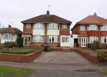 Thumbnail 3 bed semi-detached house to rent in Wagon Lane, Solihull, West Midlands