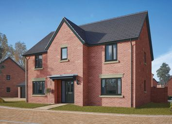 "Thumbnail 5 bed detached house for sale in ""The Wells"" at Gidding Road, Sawtry, Huntingdon"