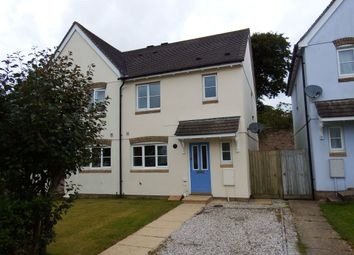 Thumbnail 3 bedroom property to rent in Rowan Close, Bodmin