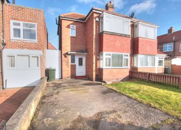 Thumbnail 2 bed semi-detached house for sale in Bondicarr Place, North Fenham, Newcastle Upon Tyne