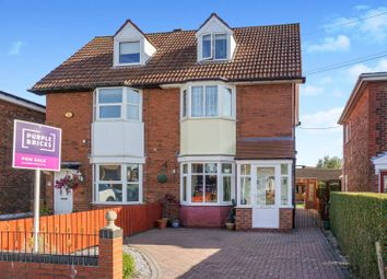 Thumbnail 4 bed semi-detached house for sale in Colwall Avenue, Hull