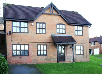 Thumbnail 4 bed detached house for sale in Geneva Drive, Birches Head, Stoke-On-Trent