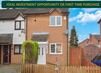 Thumbnail 2 bed terraced house for sale in Cheviot Road, Off Saffron Lane, Leicester