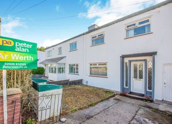 3 bed terraced house for sale in Heol Pant Y Rhyn, Whitchurch, Cardiff CF14