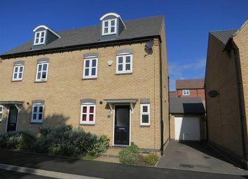 Thumbnail 4 bed semi-detached house for sale in Ashington Drive, Arnold, Nottingham