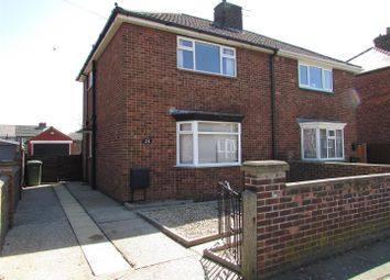 Thumbnail 2 bed semi-detached house to rent in Brocklesby Place, Grimsby