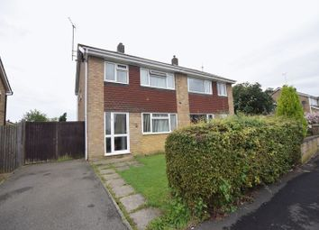 Thumbnail 3 bed semi-detached house for sale in Wye Close, Bletchley, Milton Keynes