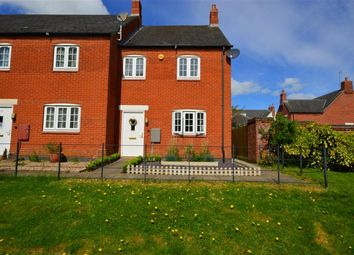 Thumbnail 2 bed end terrace house for sale in Long Close, Anstey, Leicester