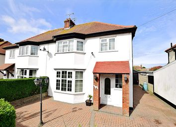 Thumbnail 3 bedroom semi-detached house for sale in Arlington Gardens, Margate, Kent