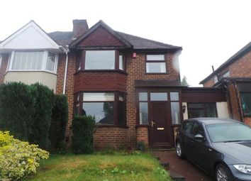 Thumbnail 3 bed semi-detached house for sale in George Frederick Road, Sutton Coldfield