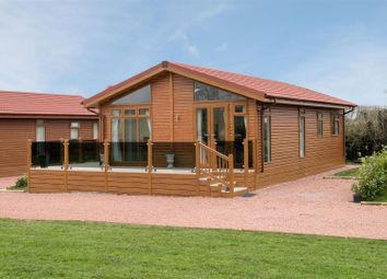 Thumbnail 2 bed mobile/park home for sale in Goose Meadow Holiday Park, West End, Barton In The Beans