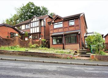 Thumbnail 3 bed detached house for sale in Gildersdale Drive, Manchester