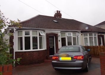 Thumbnail 2 bedroom bungalow for sale in Cambo Avenue, Whitley Bay