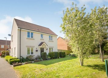 Thumbnail 3 bed semi-detached house for sale in Thestfield Drive, Staverton, Trowbridge
