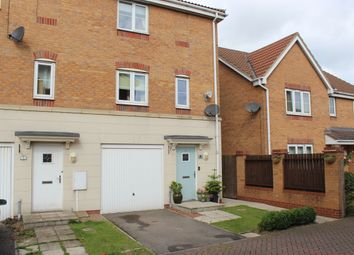 Thumbnail 3 bed semi-detached house for sale in Curlew Croft, Scunthorpe