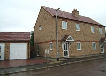 Thumbnail 3 bed semi-detached house to rent in Hortonfield Drive, Washingborough, Lincoln
