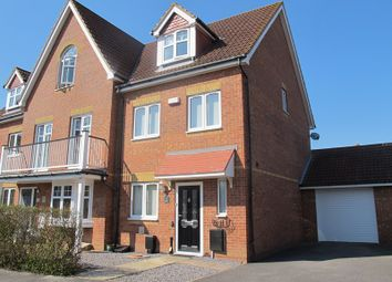 Thumbnail 4 bed town house for sale in Proctor Drive, Lee-On-The-Solent
