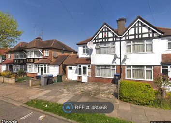 Thumbnail 3 bed semi-detached house to rent in Grassmere Ave, Wembley