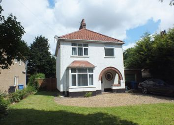 Thumbnail 3 bed detached house for sale in Earlham Road, Norwich