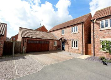 Thumbnail 4 bed detached house for sale in Church View Close, Morton, Bourne