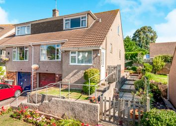 Thumbnail 3 bed semi-detached bungalow for sale in Courtland Road, Torquay