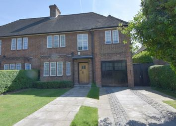 Thumbnail 5 bed property for sale in Ossulton Way, Hampstead Garden Suburb