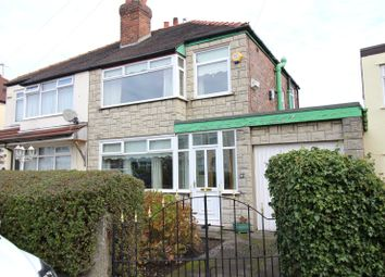 Thumbnail 3 bed semi-detached house for sale in The Fairway, Knotty Ash, Liverpool, Merseyside