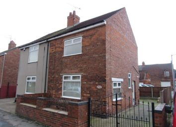 Thumbnail 2 bed semi-detached house to rent in Wall Street, Gainsborough