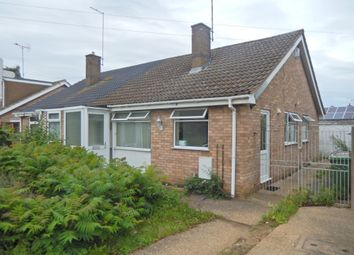 Thumbnail 3 bed semi-detached bungalow for sale in Newcastle Drive, Orton Longueville, Peterborough