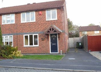 Thumbnail 3 bed semi-detached house to rent in Warner Close, Whetstone, Leicester