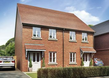 "Thumbnail 2 bed semi-detached house for sale in ""The Milton"" at Sandy Lane, Waltham Chase, Southampton"