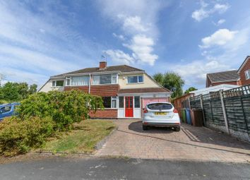 Thumbnail 3 bed semi-detached house for sale in Glendower Close, Gnosall, Stafford
