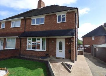 Thumbnail 3 bed semi-detached house for sale in Parkfield Crescent, Tamworth, Staffordshire